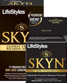 Free non-latex and unlubed condoms