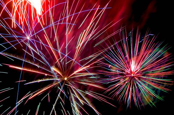 Photograph of fireworks!