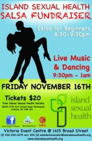 Salsa Dancing + Sexual Health Fundraiser = Super Fun Night for a great cause