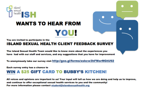 ISH Client Feedback Survey