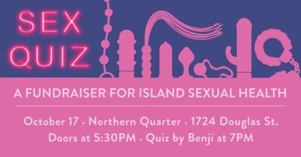 Sex Quiz Fundraiser – Oct 17th @ Northern Quarter