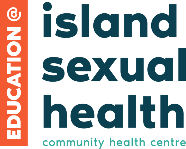 Education logo: Education at Island Sexual Health, community health centre.