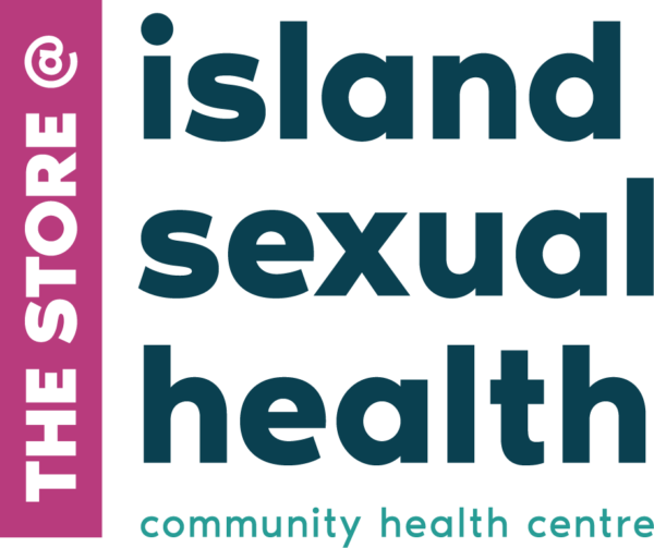 The Store logo: The Store at Island Sexual Health, community health centre.