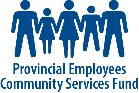 Logo for the Provincial Employees Community Services Fund